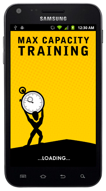 Max Capacity Training Android App